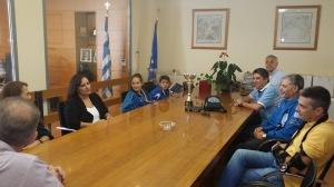 Θερμά συγχαρητήρια από τον Δήμαρχο Μαρκοπούλου, κο Σωτήρη Μεθενίτη, στους δύο διακεκριμένους αθλητές του Α.Ο. Μαρκοπούλου, σε αγώνες jiu jitsu.