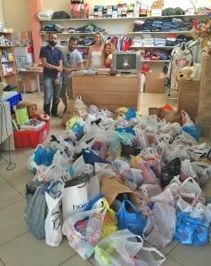 Δωρεά τροφίμων από το Σύλλογο Α.Τ.ΟΜΑ, στο Κοινωνικό Παντοπωλείο του Δήμου Μαρκοπούλου